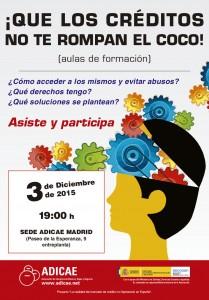 Cartel CREDITO 2015 - Aulas - Madrid_Maquetación 1