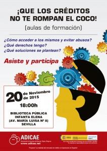 Cartel CREDITO 2015 - Aulas - Sevilla_1_Maquetación 1