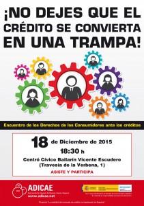 Cartel-CREDITO-2015---Encuentros---Valladolid