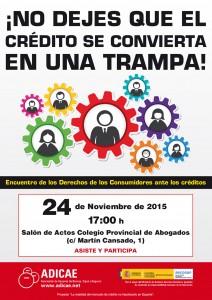Cartel-CREDITO-2015---Encuentros---Badajoz
