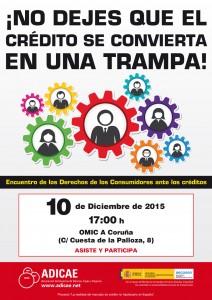 Cartel-CREDITO-2015---Encuentros---A-Coruna